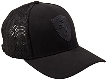 f2f8fe4857 Puma Ferrari LS scorpion cap Cap - puma black, ADULT: Amazon.co.uk ...