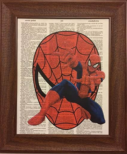 Amazon.com: Spiderman Children\'s Nursery Dictionary Book Page ...