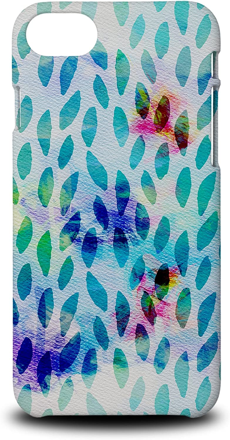 Foxercases Design (2020) #1 Watercolor Raindrop Pattern Art Hard Phone Case Cover for Apple iPhone 7/8 / SE (2020)