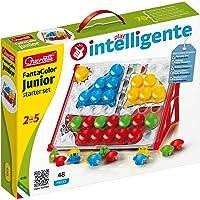 Quercetti- Juego Pinchos Junior, Multicolor, 12m+ (41956) , color/modelo surtido