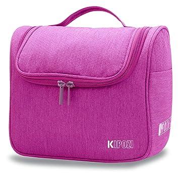 KIPOZI Hanging Toiletry Bag for Men   Women, Waterproof Toiletry Organizer  For Travels, Travel e74de59f1f