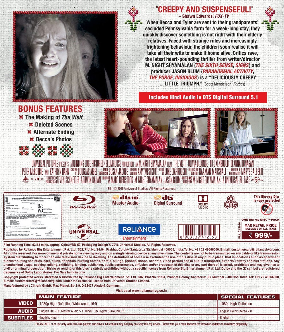 Amazon in: Buy The Visit DVD, Blu-ray Online at Best Prices