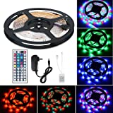 Amazon Price History for:Flexible LED Strip Light Kit LinkStyle 16.4Ft LED Rope Lights 300 LED Tape Light, Color Changing RGB LED Strip Lights & 44Key Remote Controller and 12V Power Supply for DIY Bedroom Home Bar Party