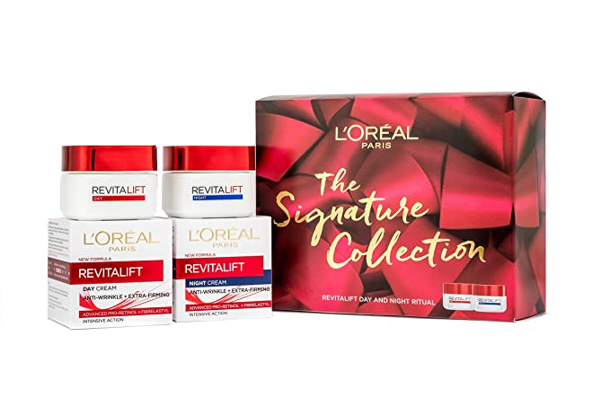 L'Oreal Paris Revitalift Signature Collection Moisturising Christmas Gift Set For Her-Best-Popular-Product