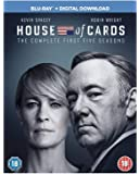 House of Cards - Season 1-5 [Region Free]