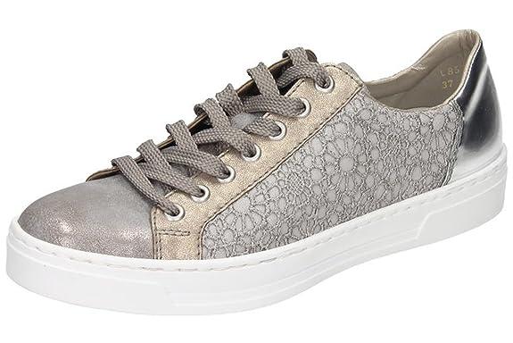 Rieker 41°grey/platin/staub gris, (41°grey/platin/staub) L8514-41