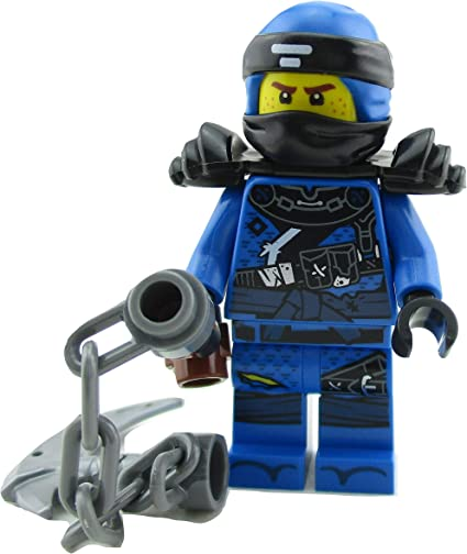 70618 1 LEGO Minifigure Jay with weapon