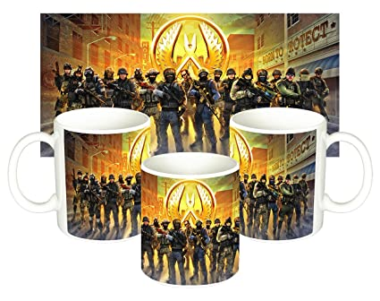MasTazas Counter-Strike Global Offensive Taza Mug