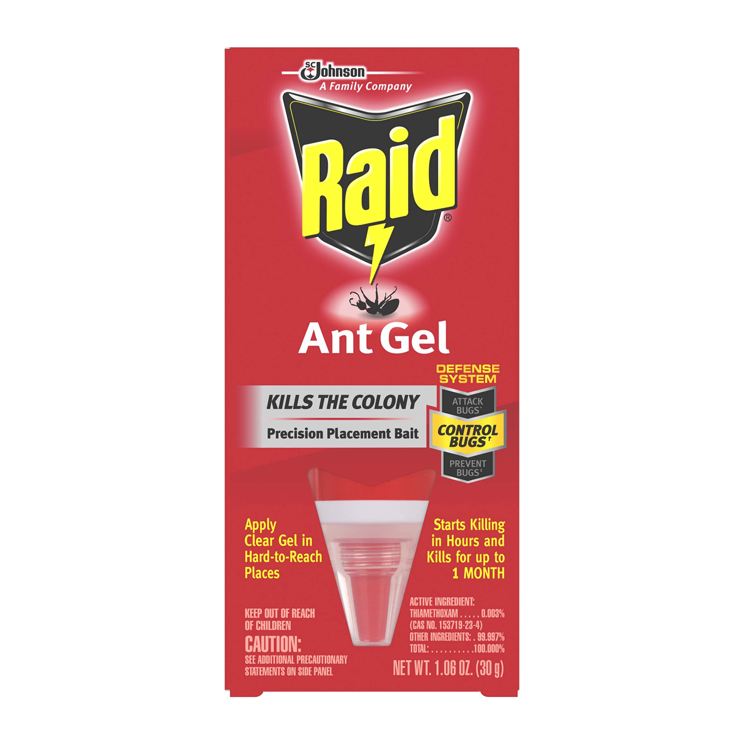 Raid Ant Gel, 1.06 OZ (Pack - 8) by Raid