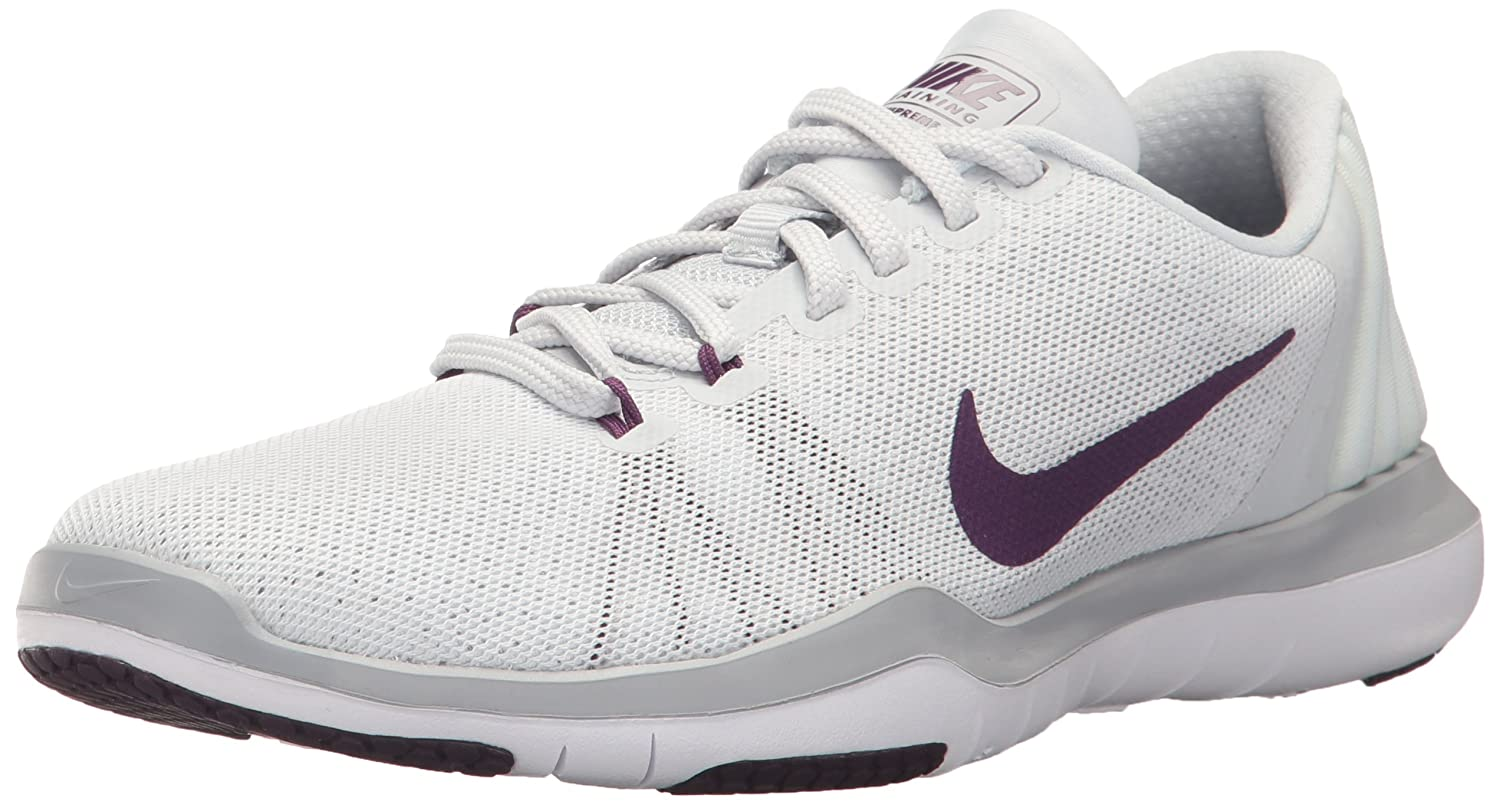Pure Platinum Night violet Wolf gris 38.5 EU Nike 884491-103, Chaussures de Basketball Homme
