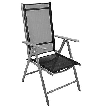weiße klappstühle für balkon terrasse metallisch gloster FUSION Povl Eskildsen
