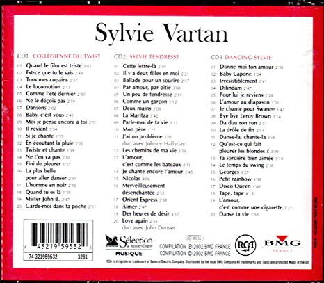 Sylvie Vartan Multi Artistes Sylvie Vartan Amazones Música