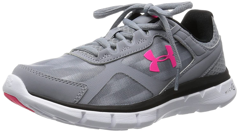 Amazon.com | Under Armour Women's UA Micro G Velocity RN Sneaker | Road  Running