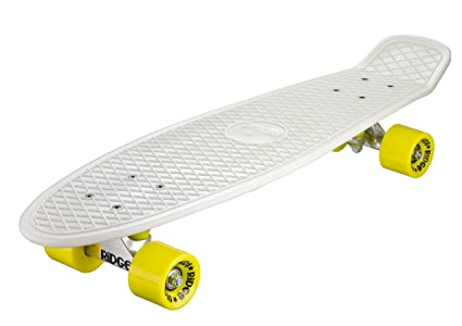 Ridge Skateboard Big Brother Nickel 69 cm Mini Cruiser rot//rot