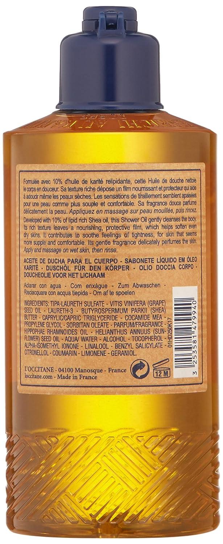 L'Occitane Shea Body Shower Oil with 10% Shea Oil, 8.4 Fl Oz: Premium Beauty