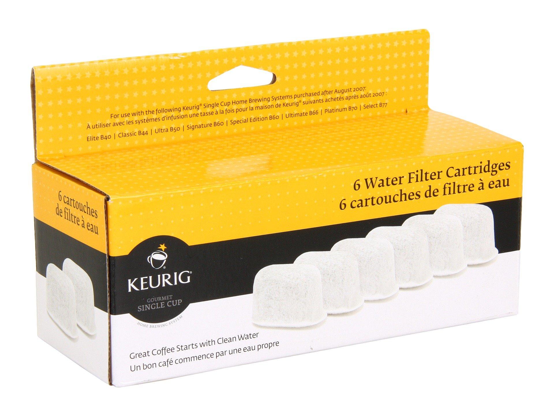 Keurig Replacement Water Filters, 6-Count by Keurig