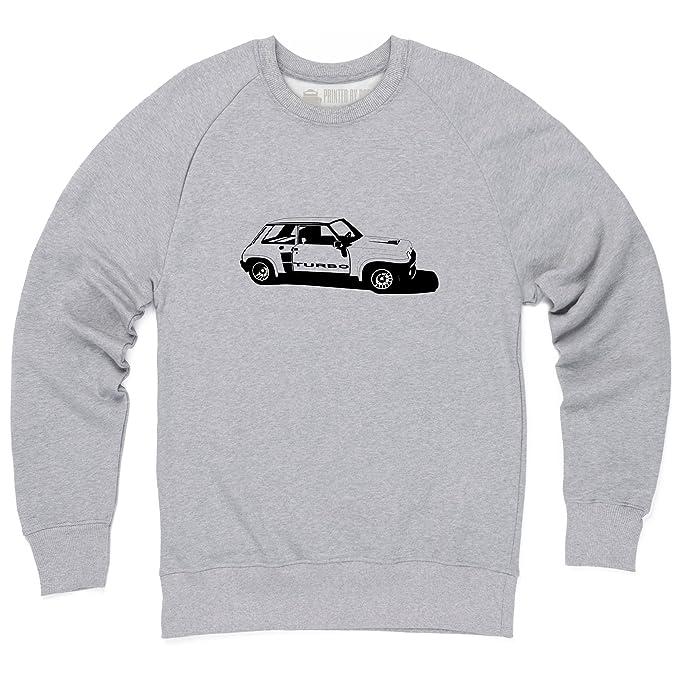 R5 Turbo High-Performance Hatchback Sudadera de cuello redondo, Para hombre: Amazon.es: Ropa y accesorios