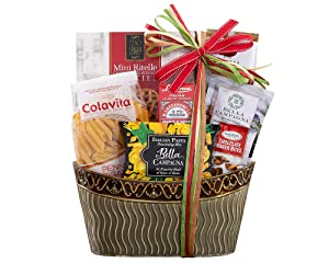 Gift Baskets The Taste of Italy Italian Gift by Wine Country Gift Baskets Full of Italian Gourmet Ingredients Ready to Make an Italian Feast