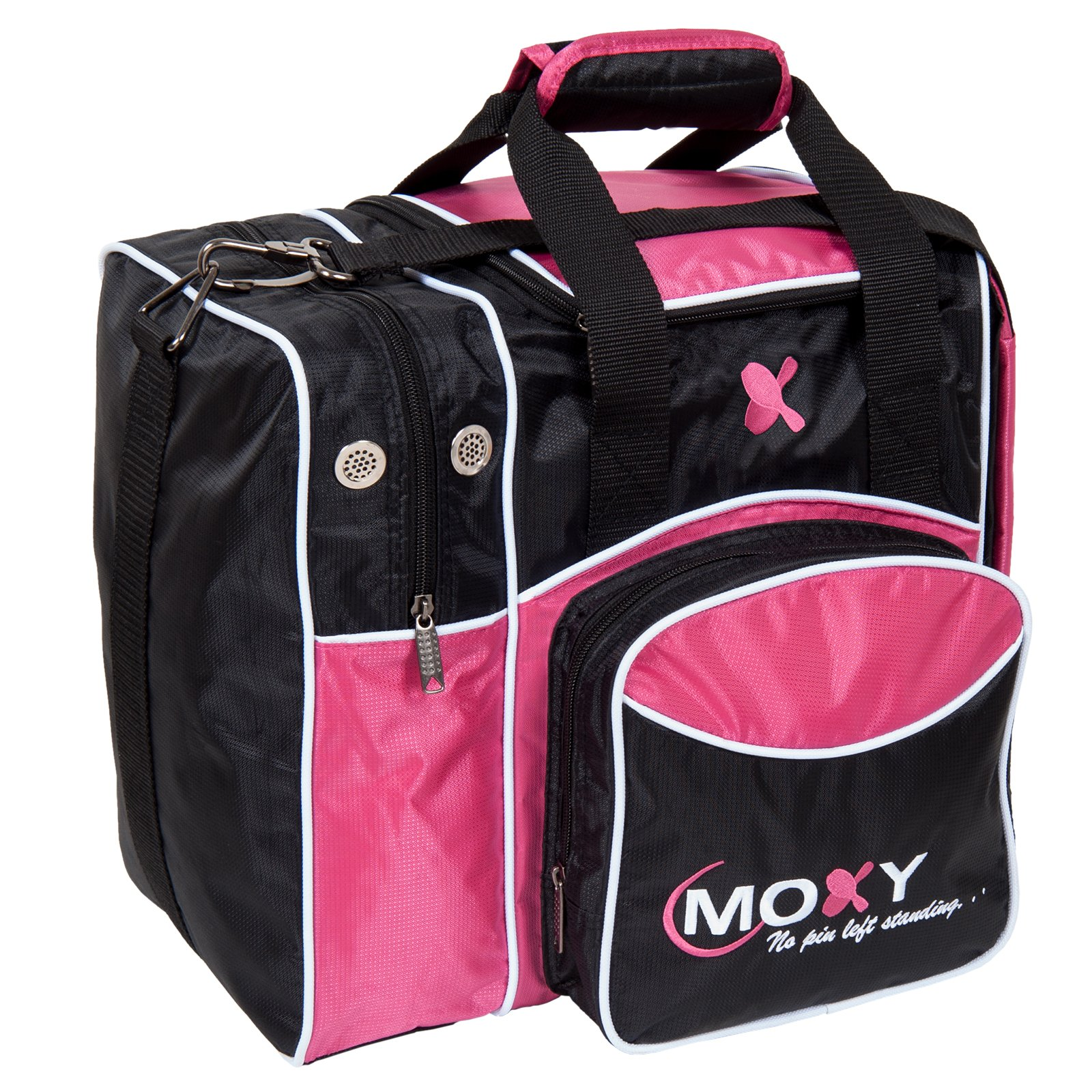 Moxy Bowling Products Single Deluxe Bowling Bag (Pink) by Moxy Bowling Products