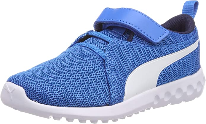 Puma Carson 2 V PS Sneakers Jungen Mädchen Unisex Kinder Blau (Indigo Bunting)