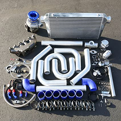 Amazon.com: For Volkswagen VR6 Engine High Performance 15pcs T04E Turbo Upgrade Installation Kit: Automotive