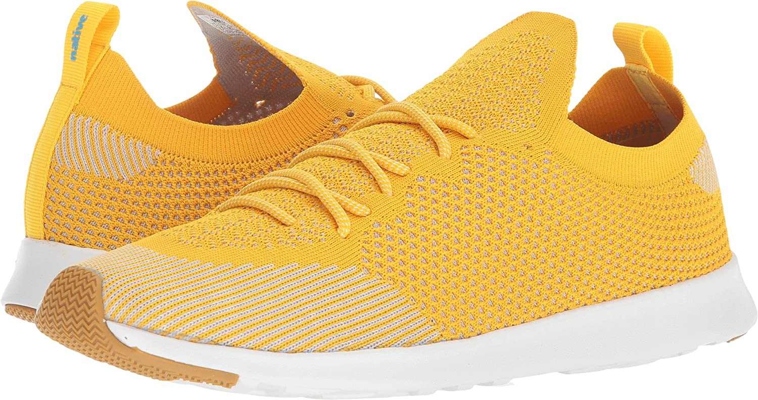 native AP Mercury Liteknit B072R1PFL8 13 Women / 11 Men M US|Groovy Yellow/Shell White/Natural Rubber