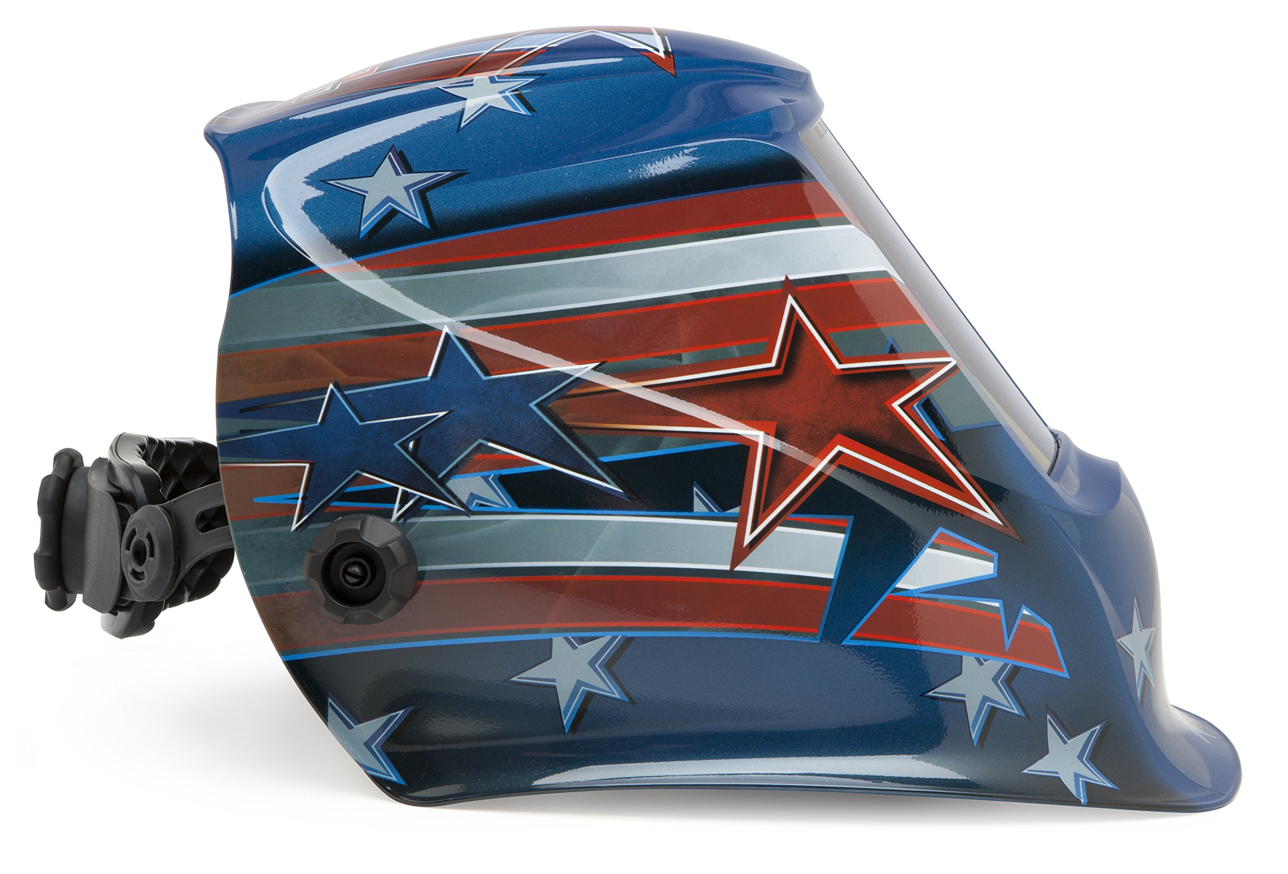 Lincoln Electric VIKING 2450 All American Welding Helmet with 4C Lens Technology - K3174-3 by Lincoln Electric (Image #4)