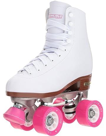 Chicago Women s Classic Roller Skates – White Rink Skates 07422d531f