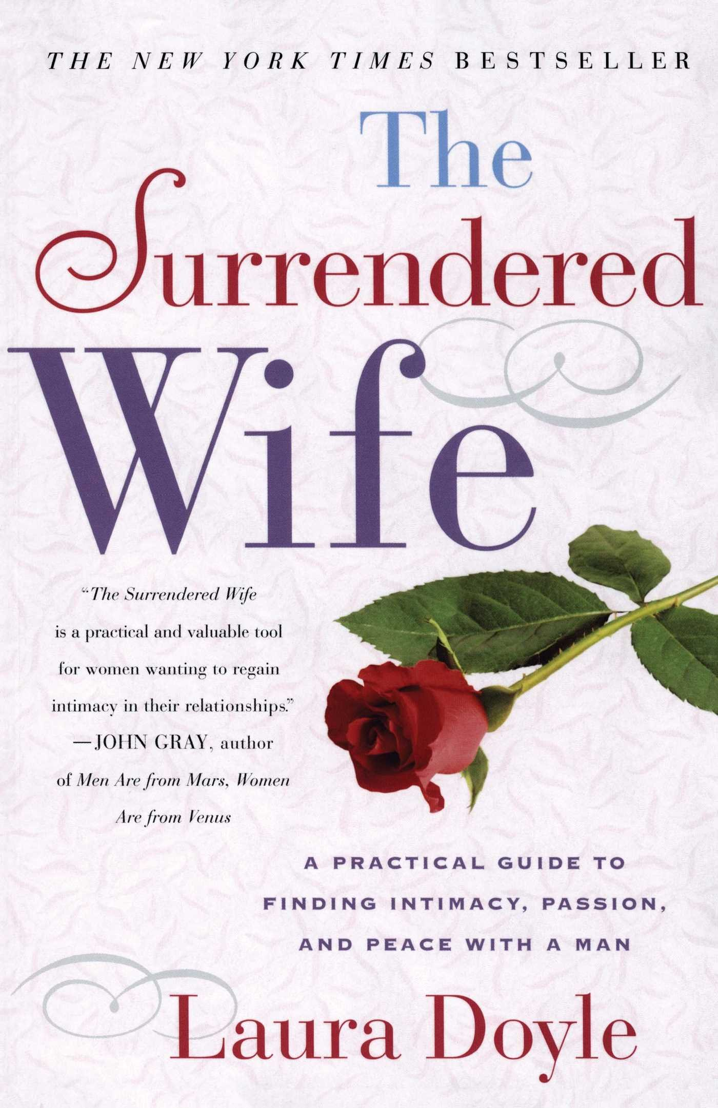 The surrendered wife a practical guide to finding intimacy the surrendered wife a practical guide to finding intimacy passion and peace laura doyle 8601417469576 amazon books fandeluxe Gallery