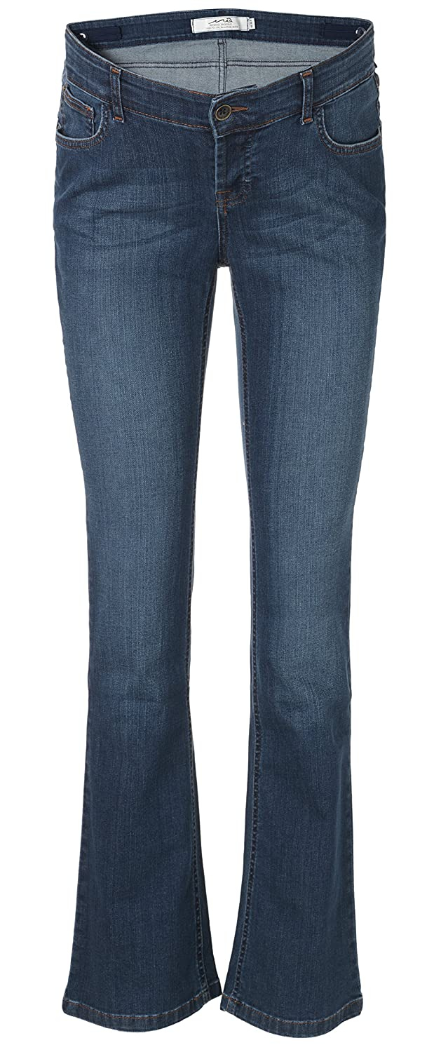 Mama Jeanius maternity jeans: Under the bump, Mid denim, Boot, UK sizes 8-16, petite/regular/ long leg Boot Cut UK sizes 8 - 16