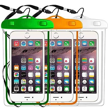 Amazon.com: Funda impermeable universal para teléfono móvil ...