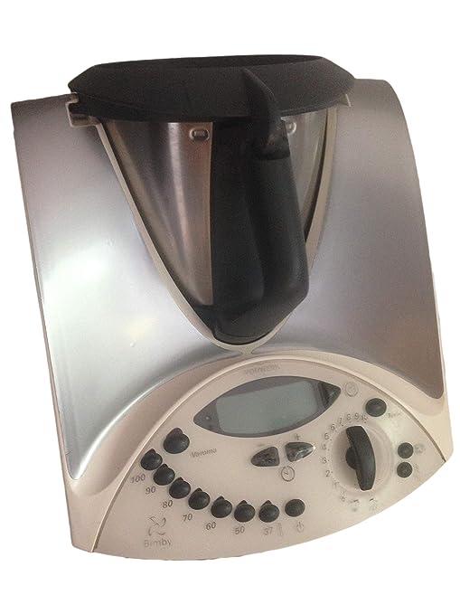 Pegatina Sticker Adhesivo de Vinilo para Thermomix TM31 - Efecto Acero Inoxidable/Plata metálica