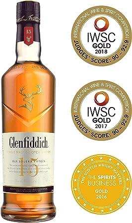 Glenfiddich 15 Años, 700 ml