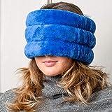 Huggaroo Microwavable Heating Pad | Head & Sinus Wrap with Lavender Aromatherapy