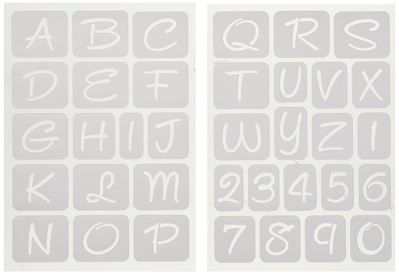 Momenta 26694 1 Alphabets Adhesive Stencil