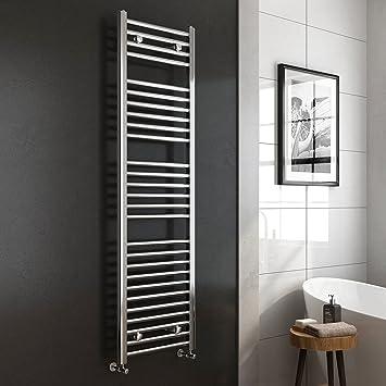 heated towel rails for bathrooms uk. ibathuk | 1600 x 450 premium straight heated towel rail chrome bathroom radiator - all sizes rails for bathrooms uk