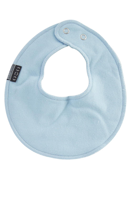 Mikk-Line Baby Boys' Baumwoll-Bib Lätzchen Neckerchief Blau (Baby Blue 205) One Size 9941