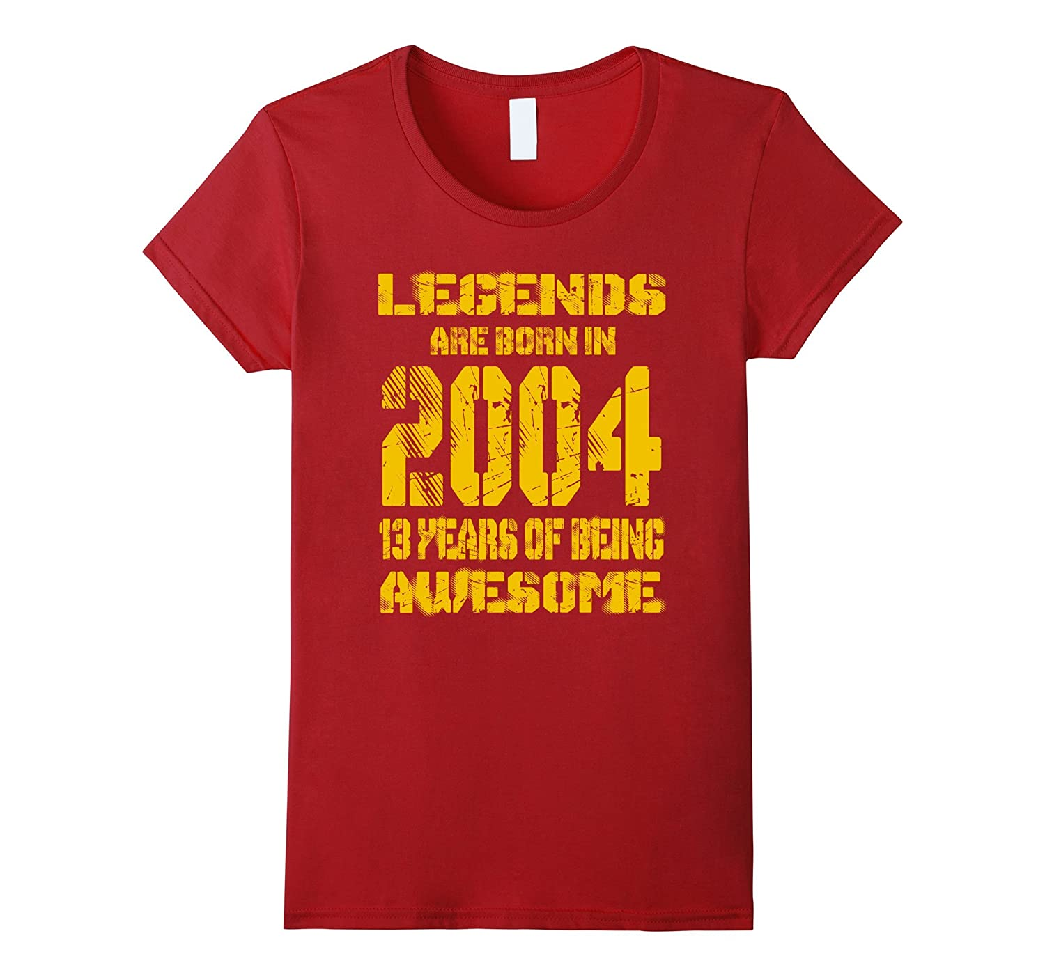 13 years old 13th Birthday B-day Gift Legends 2004 T Shirt
