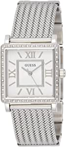 Guess Women's Silver Dial Stainless Steel Band Watch - W0826L1