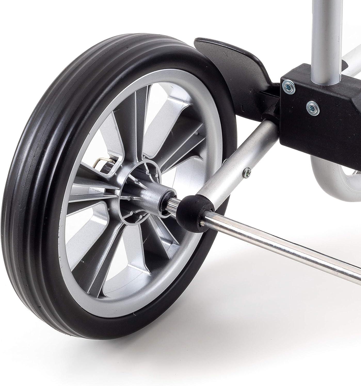 Andersen Ersatzrad f/ür Tura und Royal Einkaufstrolley /Ø 290 mm luftbereift und kugelgelagert Silber