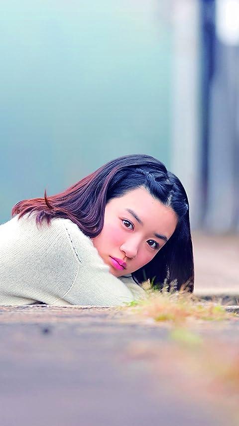 永野芽郁 「半分、青い。」主演・楡野鈴愛 XFVGA(480×854)壁紙画像