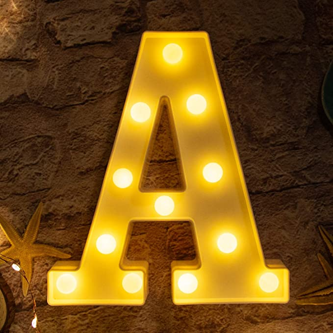 Cloud Brightown Decorative LED Marquee Lights Cloud Shaped Light Up Sign Wedding Birthday Party Night Light Christmas Lamp Home Bar Decoration Battery Operated