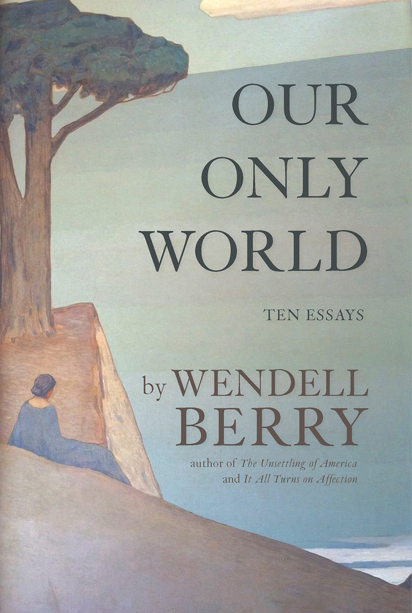 Our only world ten essays wendell berry 9781619027008 amazon com