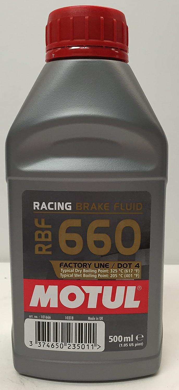 MOTUL Race Brake Fluid RBF 660 Factory Line Dot 4 fluida bremsö l 0, 5 l 5l MOTUL-101666