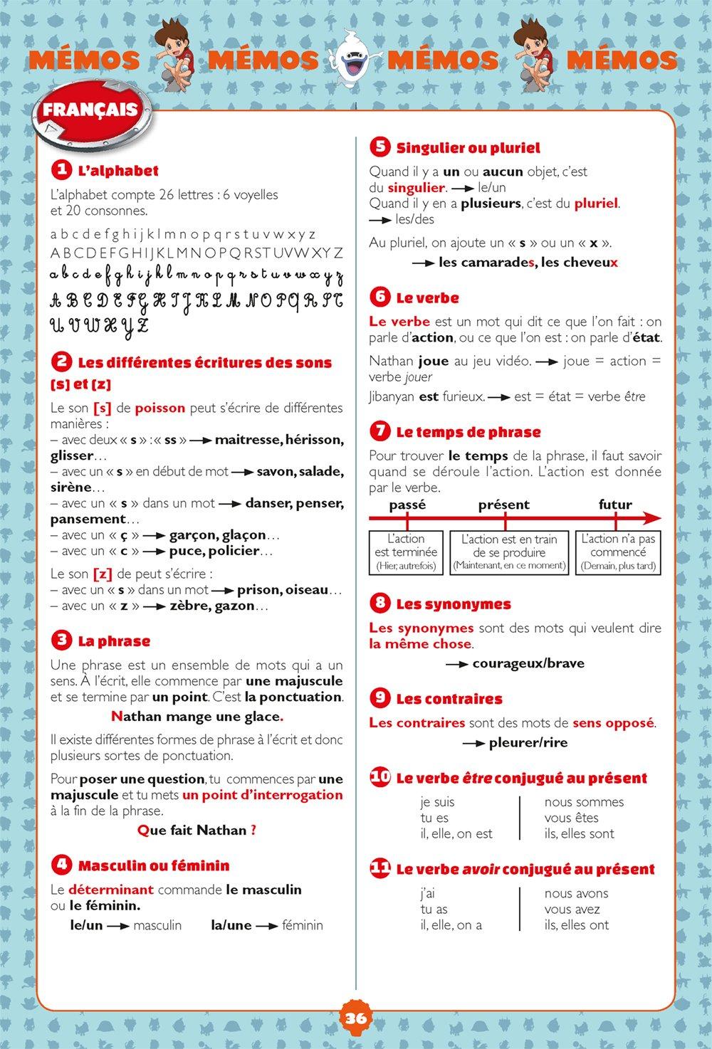 Mon Cahier De Vacances Yo Kai Watch Cp Vers Le Ce1 9782401044043