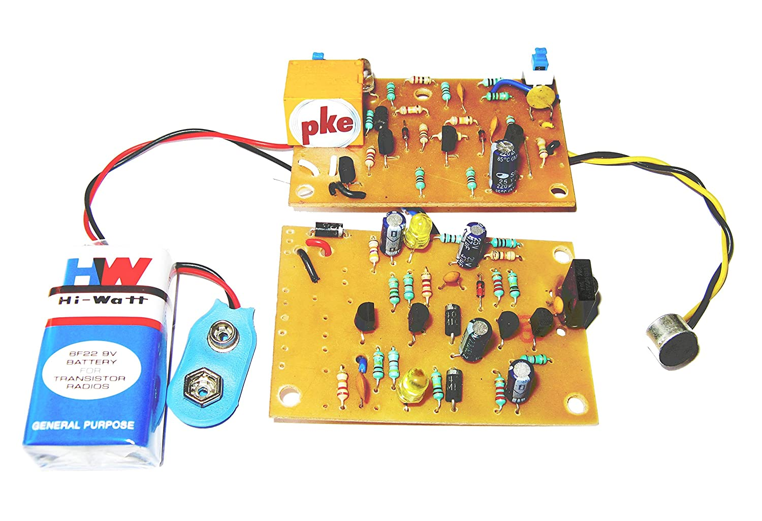 Pke 2 In 1 Clap Swith Sound Control And Remote Circuit Fan Automatic Switch Controlcircuit Diagram Project