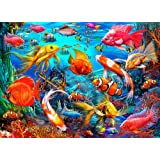 Vermont Christmas Company Tropical Fish Jigsaw Puzzle 1000 Piece