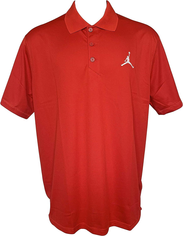 Nike Jordan Dri-Fit Team Polo de Manga Corta para Hombre - Rojo ...