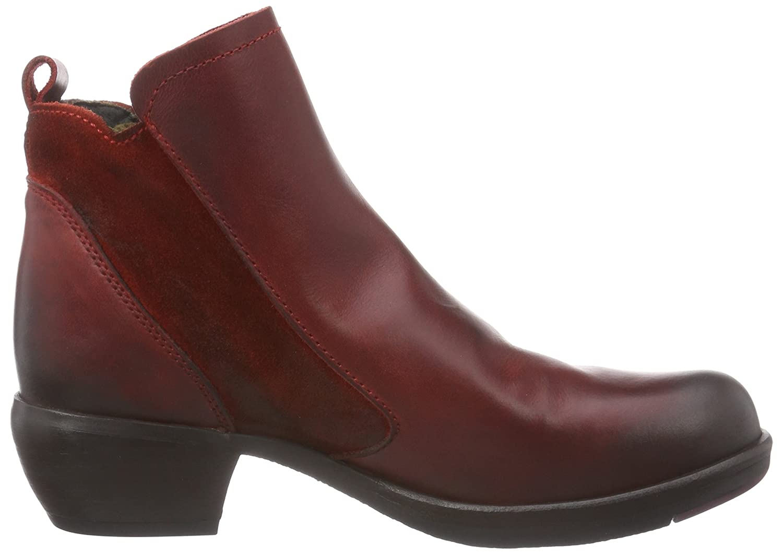 FLY London Women's Meli Boot B00XLC4NHU 8 B(M) US|Red