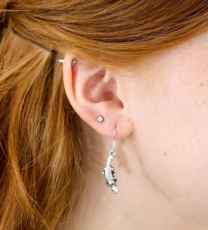 925 Sterling Silver Hooks Platypus Earrings for Women Platypus Stuff